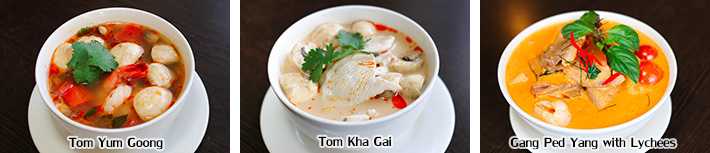 Thai Soups & Curries